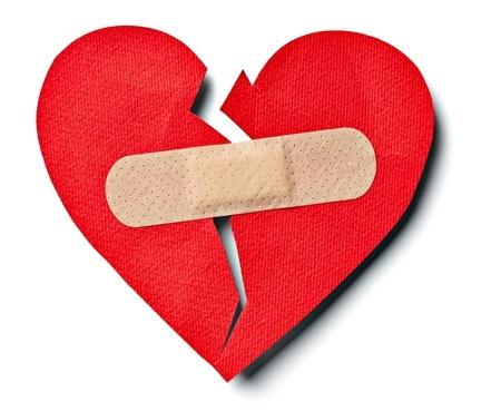 Bandaged Broken Heart