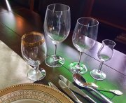 Place Setting Glasses