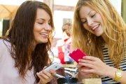 Women with Smartphones
