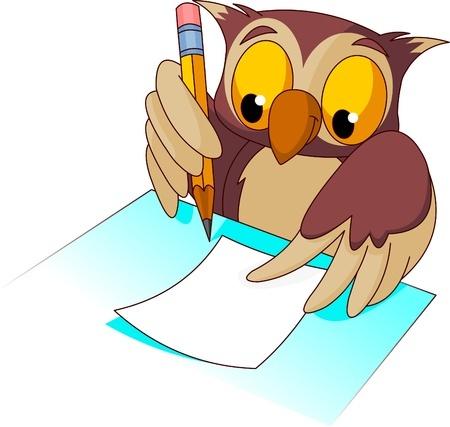 Etiquette Entries Owl