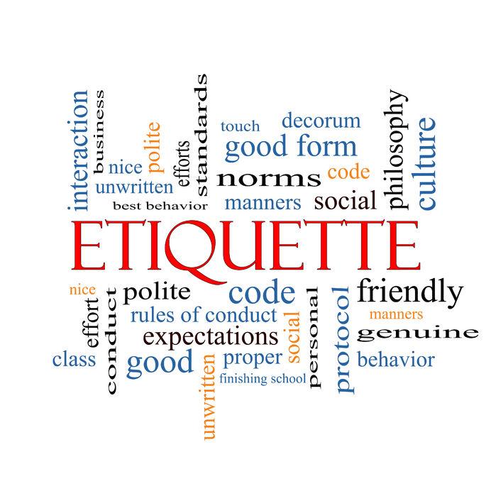 Etiquette Keywords