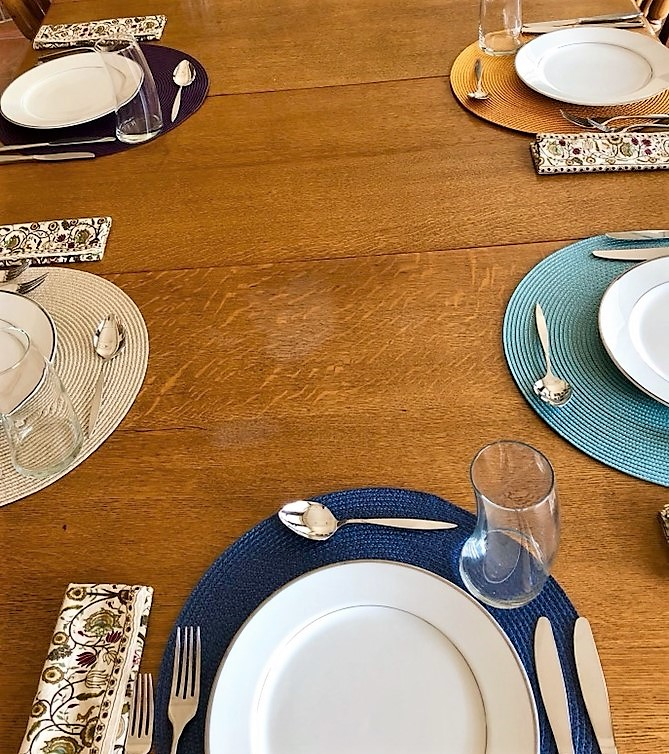 Traditional Place Settings