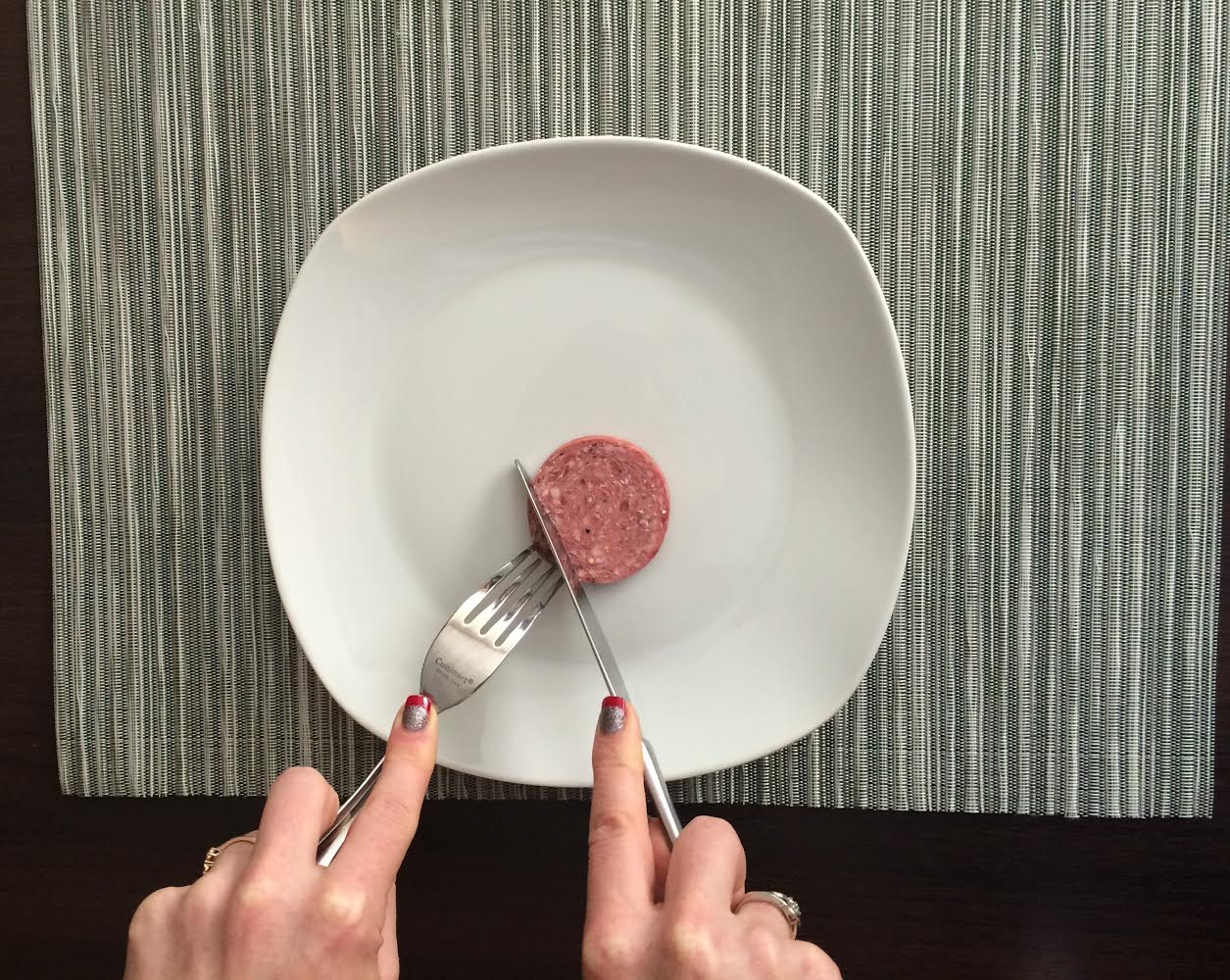 How to cut your food to eat it