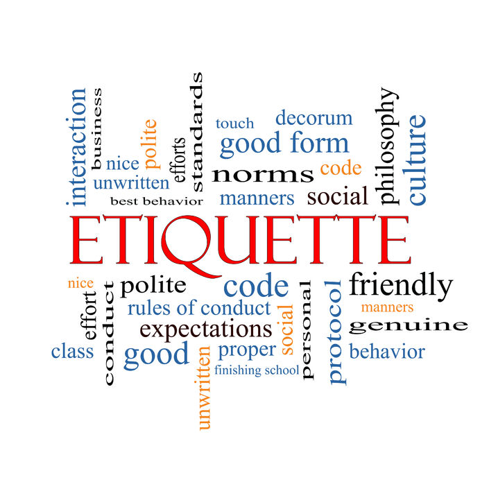 Etiquette Keywords