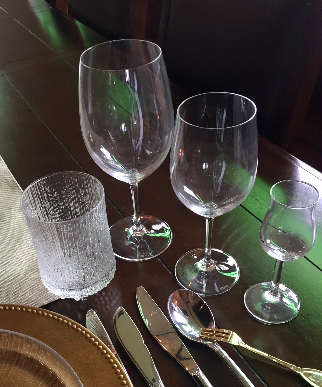 Wine - and Other - Glasses on Your Table