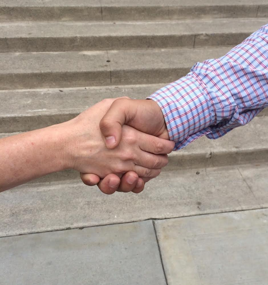 The handshake