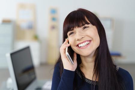 Happy Phone Conversation