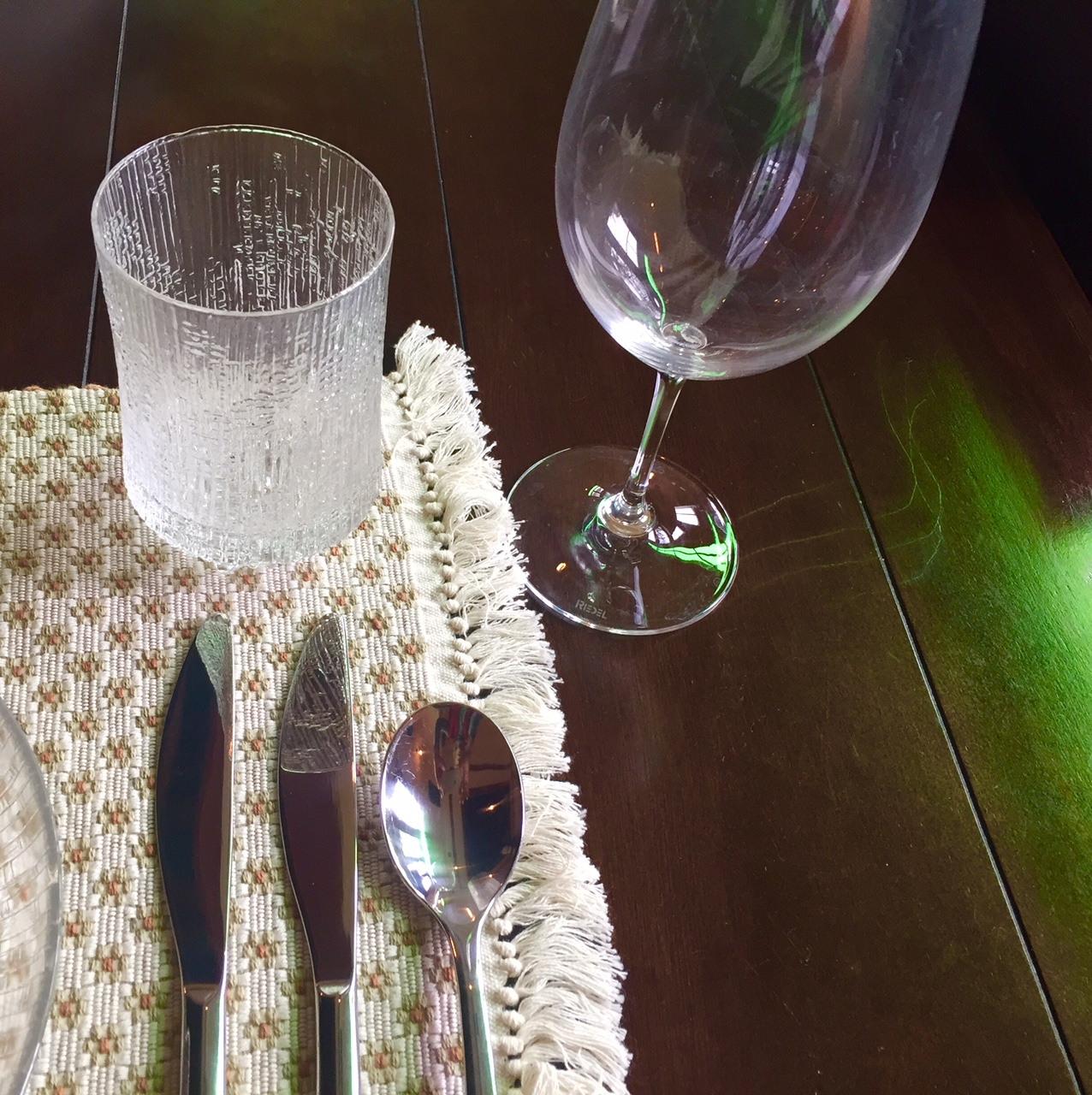 Wine And Other Glasses On Your Table