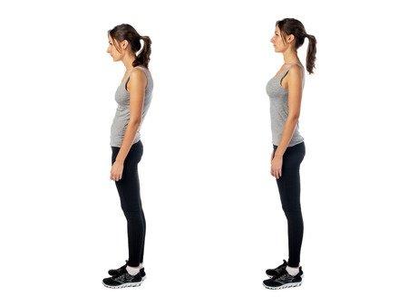 Bad Posture vs Good Posture