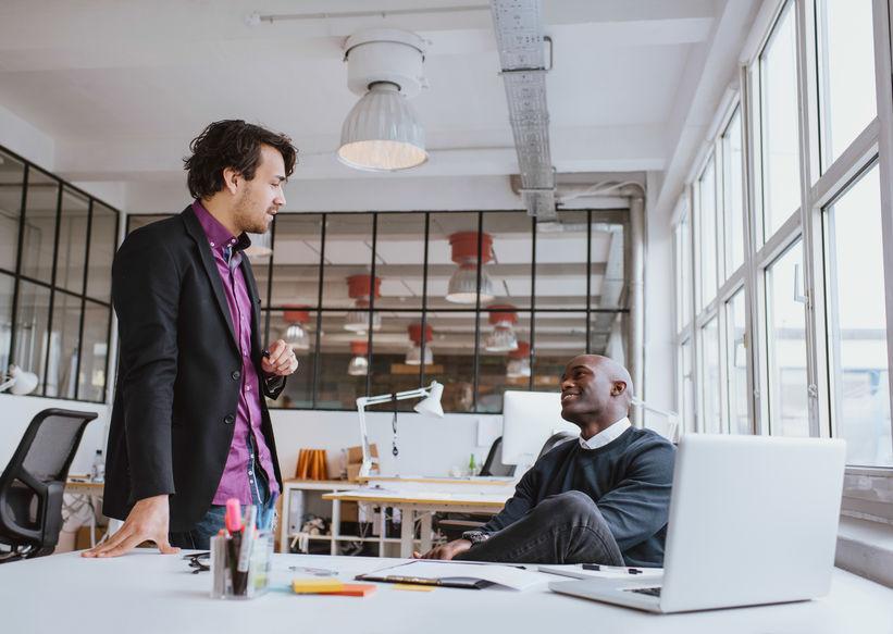 Men in Business Casual Attire