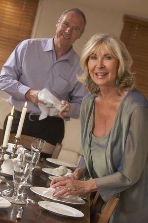 Couple Hosting Dinner