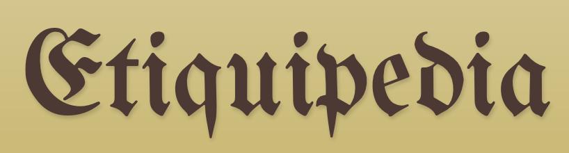 Etiquipedia