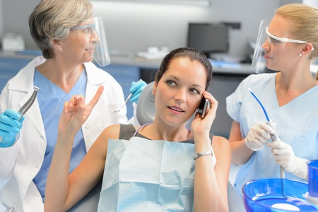Rude Woman at Dentist Office