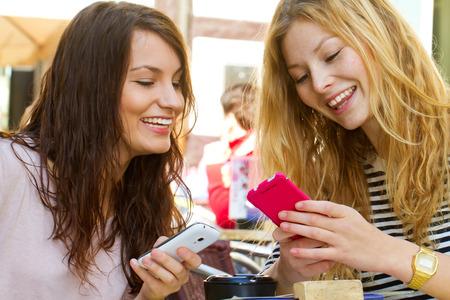 Women Using Smartphones